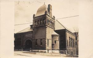 Spencer Massachusetts~Sugden Library~Worcester County~c1910 Kruxo RPPC-Postcard