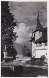 Switzerland Schloss Spiez Real Photo