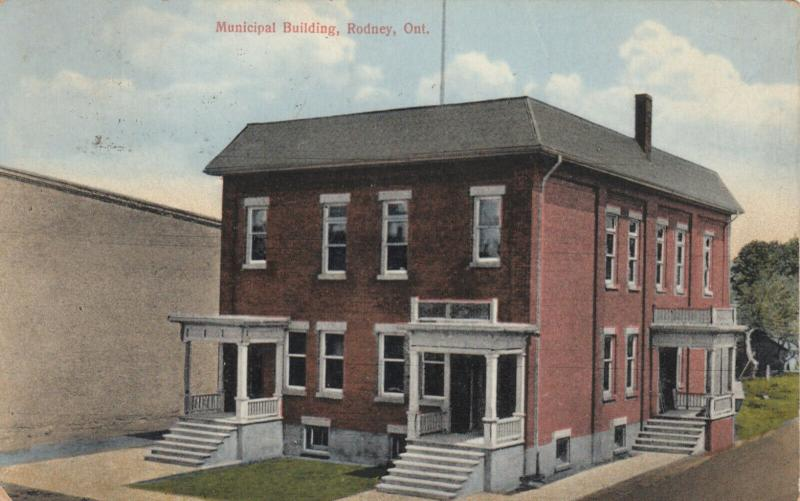 RODNEY , Ontario , Canada , 1920 ; Municipal Building