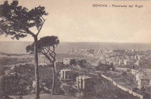 Panorama Dal Righi, Genova (Liguria), Italy, 1900-1910s