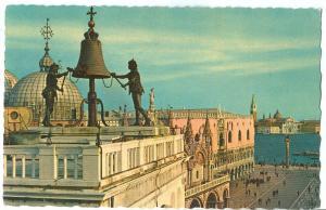 Venice, Venezia, Chiesa e Piazzetta S. Marco, Church and Piazzetta of St. Mark,
