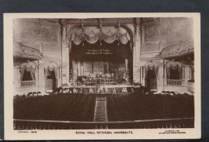 Yorkshire Postcard - Royal Hall Interior, Harrogate   T8211