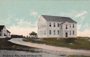 Massachusetts Amesbury Rocky Hill Church 1785