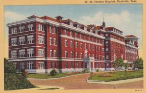 Tennessee Nashville St Thomas Hospital Curteich