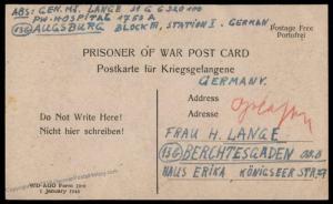 German Post-WWI Generalmajor Kurt Lange War Crimes Salzburg Commandant 79312