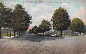 Michigan Pentwater ME Church And Resident District