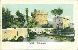 CARTOLINA d'Epoca - ROMA - TIVOLI