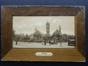 Walsall ENTRANCE TO ARBORETUM c1908 Postcard by T. Kirby & Sons Ltd