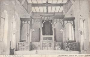 St Andrews Church Chapel Kiungani Africa WW1 Postcard