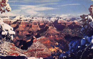 Grand Canyon National Park Arizona Panoramic view Postcard