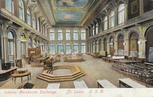 ST. LOUIS , Missouri , PU-1912 ; Interior Merchants Exchange