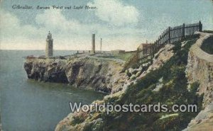 Europa Point & Light House Gibralter Unused