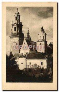 Postcard Old Krakow Poland Katedra Na Wawelu