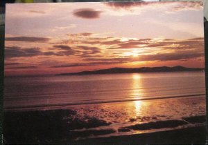 Scotland Sun sets over Scarista in South Harris - posted 1987