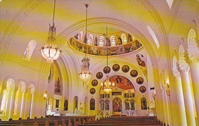 Florida Trapon Springs St Nicholas Greek Orthodox Church Interior