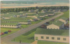 Georgia - Savannah - Base  Hospital Area - Air Base - 1942