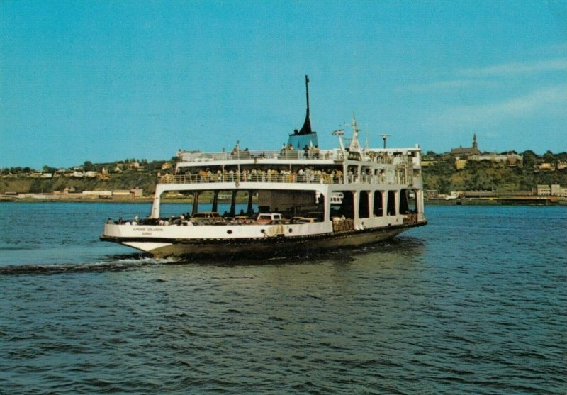 LEVIS , Quebec , Canada , 1960-80s ; Ferry