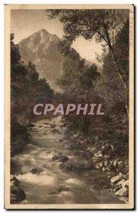Old Postcard La Douce France Cauterets Peguere And Gave