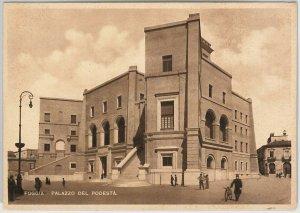 49727 CARTOLINA d'Epoca - FOGGIA citta' : Palazzo del Podesta'