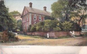 The Old Nelson House  Yorktown Virginia 1907 Tucks
