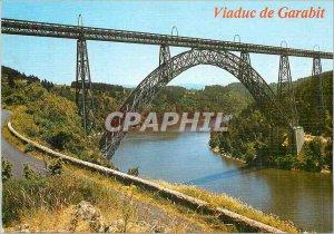 Modern Postcard Viaduct Garabit Cantal Picturesque