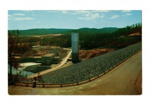 Electrical Power Station Ouachita Lake Hot Springs Arkansas Postcard #82016