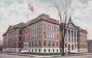 High School, SYRACUSE, New York, PU-1910