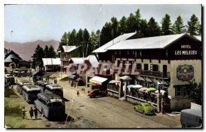 Old Postcard Valberg Village Center