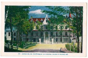 Chateau Bel-Air, Ste-Petronille, Ile D'Orleans