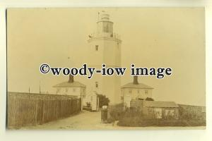 tp0245 - Kent - Early View of the North Forland Lighthouse, S.E.Coast - Postcard