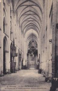 La Nef XII Et XIII Siecles De l'Eglise De La Trinite Ancienne Abbaye Benedict...