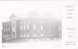 RP: BAMBERG , South Carolina , 30-50s; Bamberg County Court House