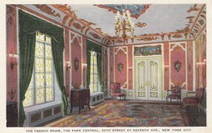 NEW YORK CITY , 1930-40s ; The French Room , The Park Central