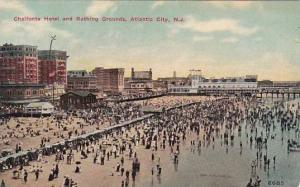 New Jersey Atlantic City Chalfonte Hotel And Bathing Grounds