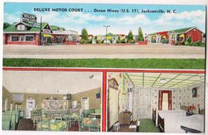 Deluxe Motor Court, Jacksonville NC