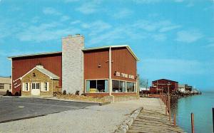 Ohio Postcard HURON Erie County Chrome Roadside THE TWINE HOUSE Restaurant