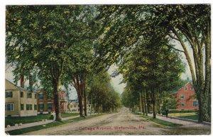 Waterville, Me, College Avenue