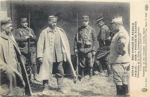 WW1 World War I prisoners of the Prussian Guards taken at Hartmansweillerkopf
