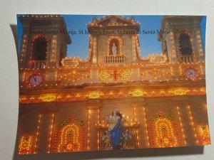 UNUSED PICTURE POSTCARD - GOZO MALTA ST MARYS FEAST SANTA MARIA   (KK1859)