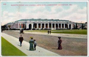 Manufacturers & Liberal Arts Place, Jamestown Exposition 1907
