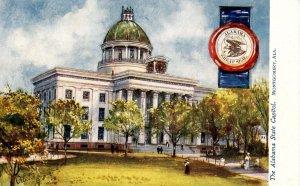 AL - Montgomery. State Capitol (Tuck)