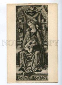 234648 Demidoff Altarpiece MADONNA by CRIVELLI Vintage PC
