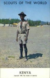 Kenya Boy Scouts of America, Scouting Postcard, Post Cards, Copyright 1968  K...