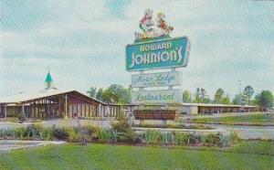 North Carolina Rocky Mount Howard Johnsons Motor Lodge