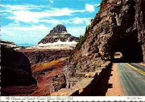 Montana Glacier National Park Mount Clements and Eastside Tunnel