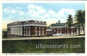 Hospital, University of Virginia