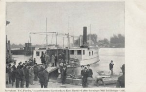 HARTFORD, Connecticut, 00-10s; Ferryboat F.C. Fowler
