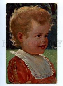 177637 BLONDE Girl in Sunlight Vintage TSN #1112 PC