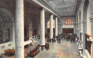San Francisco California~Merchant Exchange Building~Assembly Hall~Interior~1908