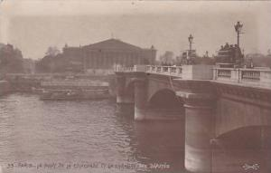 France Paris Le Pont de la Concorde et la Chambre des Deputes 1911 Photo